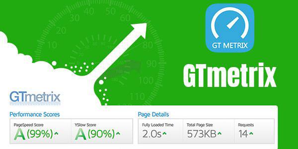 GTmetrix网站加载速度检测分析